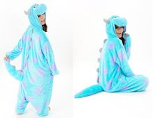 Cheap costum, Buy Quality pajama fabric directly from China costume dance Suppliers:  Hot New Adult Animal Onesie Monster's Sully Onesies Halloween Clothing Cosplay Costume Pajamas  Pictur