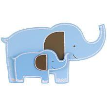 """Little Boutique 3D Wall Art - Elephant - Little Boutique - Babies """"R"""" Us"""