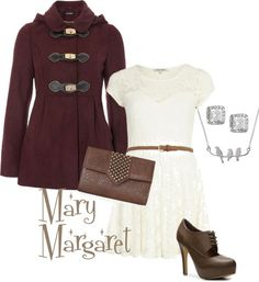 """Mary Margaret"" by saeabryony on Polyvore"
