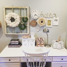 Simple Homemaking | An Office Space