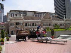 Zona del Sultán Abdul Samad Building.