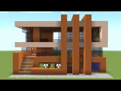 Minecraft - How to build a stained clay house Minecraft . - Minecraft – How to build a stained clay house Minecraft – How To Build A Stained Clay House – Minecraft Servers Web – MSW – Channel Villa Minecraft, Modern Minecraft Houses, Minecraft Structures, Minecraft Plans, Minecraft Room, Minecraft Houses Blueprints, Minecraft Architecture, House Blueprints, Minecraft Buildings