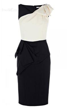 Dresswe.com SUPPLIES New Fashion Stylish Knee-Length Little Party Dress Little Party Dress