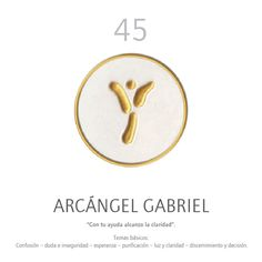 Oráculo Angelario: ARCÁNGEL GABRIEL