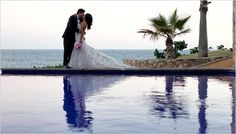 A beautiful moment by the infinity pool
