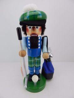 Steinbach Nutcracker Junior Golfer w/ Original Box Handmade Germany New (2)