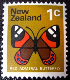 NZ 1 cent stamp - I have some of these in my stamp collection Key Tattoos, Skull Tattoos, Rose Tattoos, Butterfly Tattoos, Flower Tattoos, Sleeve Tattoos, Vanuatu, New Zealand Tattoo, Fairy Tattoo Designs