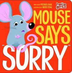 Book • Mouse Says Sorry