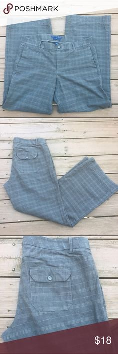 Gap trousers Nice gray patterned gray trousers by Gap. Sz 12. GAP Pants Trousers