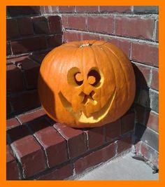 happy cross-eyed pumpkin! (: