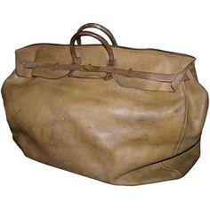 Giant Hermes Birkin Travel Bag- 1930's