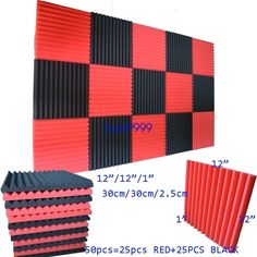 Studio Foam, Noise Sound, Tile Panels, Sound Absorbing, Corner Wall, Shape And Form, Noise Reduction, Sound Proofing, Sound Waves