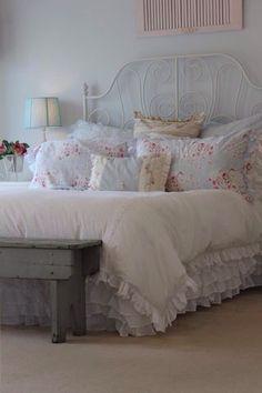 huisjekijken gespot | shabby chic slaapkamer