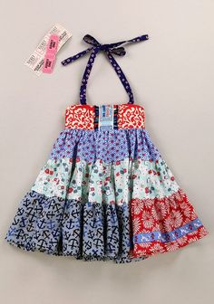 Matilda Jane Platinum sparks tiered Ellie dress as 8