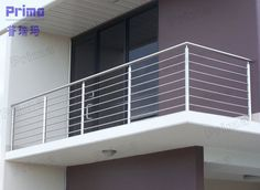 Perfect Balcony Stainless Steel Railing Gallery Perfect Balcony Stainless Steel Railing Gallery, house looks more pretty similar to alternative side dishes found inside. Stair railing is one of such. Steel Railing Design, House Design, Railing Design, Terrace Grill, Stair Railing Design, Iron Railing, Steel Grill Design, Handrail Design, Balcony Design