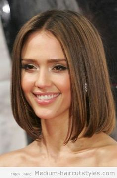 Medium Bob Hairstyles Back View | medium bob hairstyles front and back Pictures