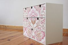 Desk Inspiration, Ikea Hackers, Crafty Craft, Dose, Wood Design, My Room, Decoupage, Decorative Boxes, Shabby Chic