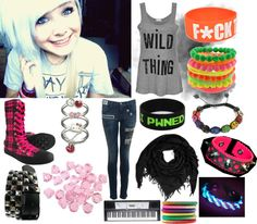 """F*UCK"" by summerluver-478 ❤ liked on Polyvore"