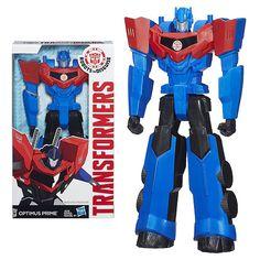 Transformers Titan Heroes Optimus Prime Figure, Not Mint - Hasbro - Transformers…