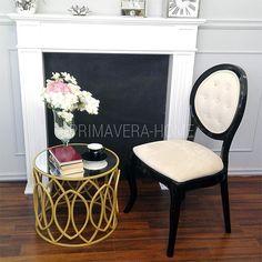 Krzesło tapicerowane drewniane nowoczesne do jadalni salonu Eliza