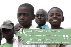 Nigeria ranks at on the WWL, but it is the most violent place in which to be a Christian. Christianity, Pray, Let It Be, God, Children, Dios, Young Children, Boys, Kids