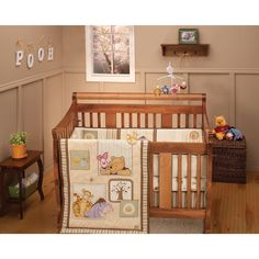 Winnie The Pooh Dreams Of Hunny 4 Piece Crib Bedding Set Baby I Love Items