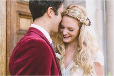 Свадьба в модных цветах: винный