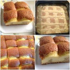 Κέικ σαν πάπλωμα Greek Desserts, Greek Recipes, Fun Desserts, Cooking Cake, Cooking Recipes, Sweets Recipes, Cake Recipes, Cake Fillings, Fat Foods