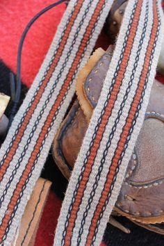 Handwoven Hemp & Linen Strap  woven by Annie MacHale