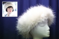 Phryne wears this 'Doctor Zhivago-style' hat