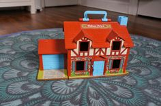 Hello Kelcey: Vintage Toys- Fisher Price Little People Tudor House
