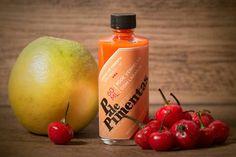 Pimenta Bode Vermelha com Laranja Orange