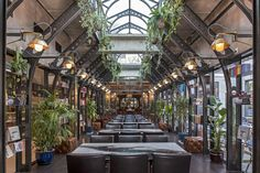 Eclectic decor fills Eberly restaurant and tavern in central Austin Bar Design Awards, Restaurant Design, Restaurant Bar, Restaurant Interiors, Eclectic Restaurant, Restaurant Trends, Small Dining Area, Shop Buildings, Rooftop Patio