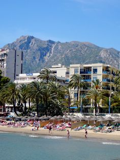 Marbella - Puerto Banus : Is southern Spain's answer to St Tropez. Places In Spain, Places To Go, Malaga, Tenerife, Pamplona, Marbella Puerto Banus, Mijas Spain, Marbella Property, Spain Holidays