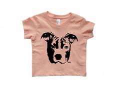 1baf95b36 Pit Bull Baby T-shirt, Pitbull Baby Clothes, Dog Pregnancy Announcement, New