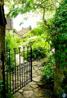 a quaint old garden in England countryside ... http://2020chrisong.blogspot.com/2011/04/east-lambrook-manor-somerset-england.html https://www.facebook.com/kristoferong
