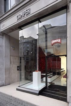 The facade of Yoshioka's Camper store in London