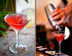 Starburst Martini Recipe - yummy @Emily Powell, I wonder if these are good like skittle shots?