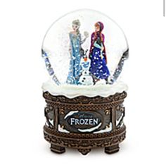 Frozen snowglobe!!!!!!!!! two of my most favorite things!! Frozen and snowgobes!!