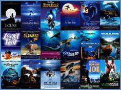 Dark Blue nature animal movie posters
