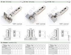 Clip On T Type 3d Adjustable Soft Close Cabinet Hinge From How To Install  Kitchen Cabinet Hinges