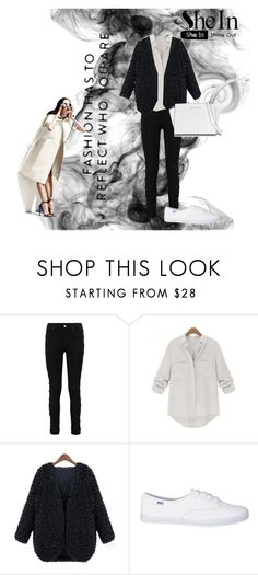 """V coat"" by vbstyle88 ❤ liked on Polyvore featuring Michael Kors, Sheinside and shein"