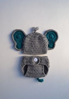 Excited to share the latest addition to my shop: Crochet Baby Elephant Outfit Newborn Baby Elephant Outfit Baby Boy Crochet Elephant Hat Photo Prop Newborn Boy Photo Outfit Baby Shower Gift Newborn Elephant, Elephant Hat, Crochet Elephant, Newborn Crochet, Crochet Baby Hats, Crochet Gifts, Crochet Baby Stuff, Baby Girl Beanies, Baby Girl Hats