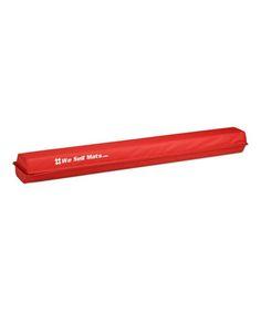 9' Red Folding Foam Balance Beam