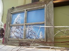 Hope Studios: A Room with a View - Recycle an Old Window
