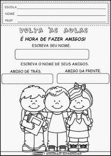 Profª Adriana Alfabetizando Com Amor Atividades Para O Primeiro