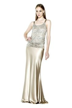 Miele gold gown