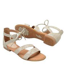 df2abd80d Cream Casma Leather Sandal  zulily  zulilyfinds Born Shoes