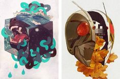 THE PAST MEETS THE PRESENT IN THE ILLUSTRATIONS OF SACHIN TENG