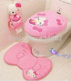 26.56 / Hello Kitty Bathroom Set